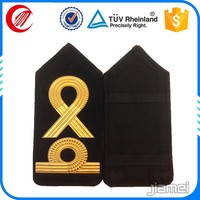 Army military clothing shoulder board custom captain pattern military rank epaulettes