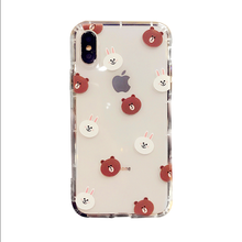 Fit for iphone x soft case with logo customized