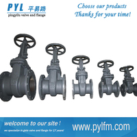 carbon steel GOST industry gate valve regulating gas oil water