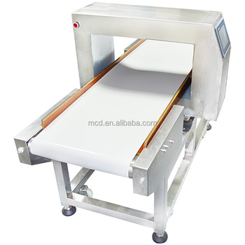 Reliable factory Conveyor metal detector machine for fruit and salty food,conveyor belt needle detector MCD-F500QF