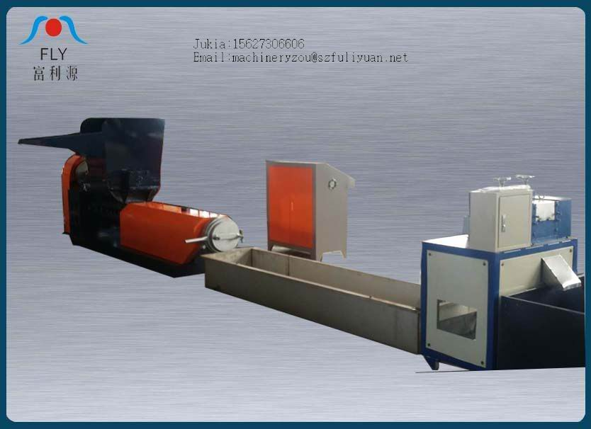 150kg/h High capacity EPE foam recycling machine FLY200-125 plastic pelletizing/granuling machine
