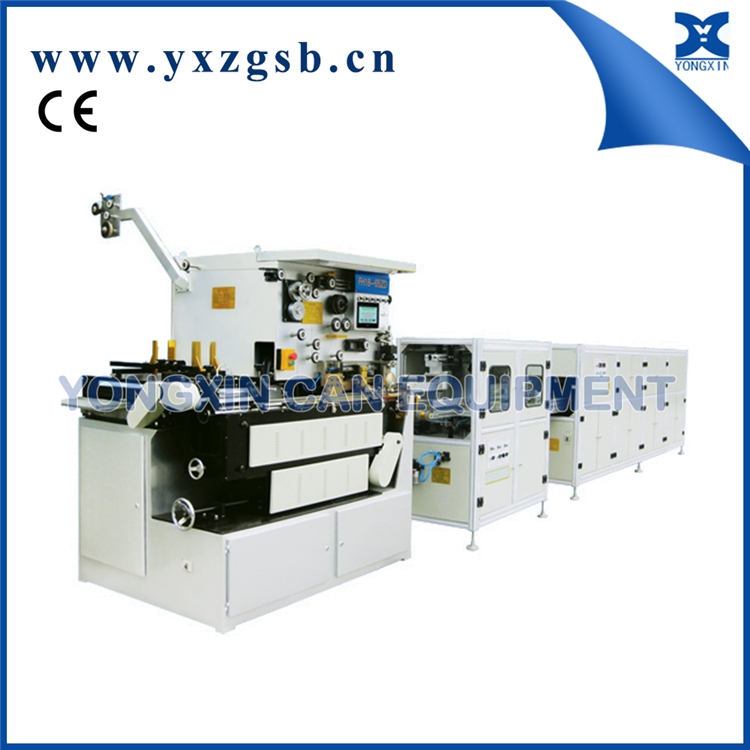 Roll forming machine/Square tin can seam welder equipment