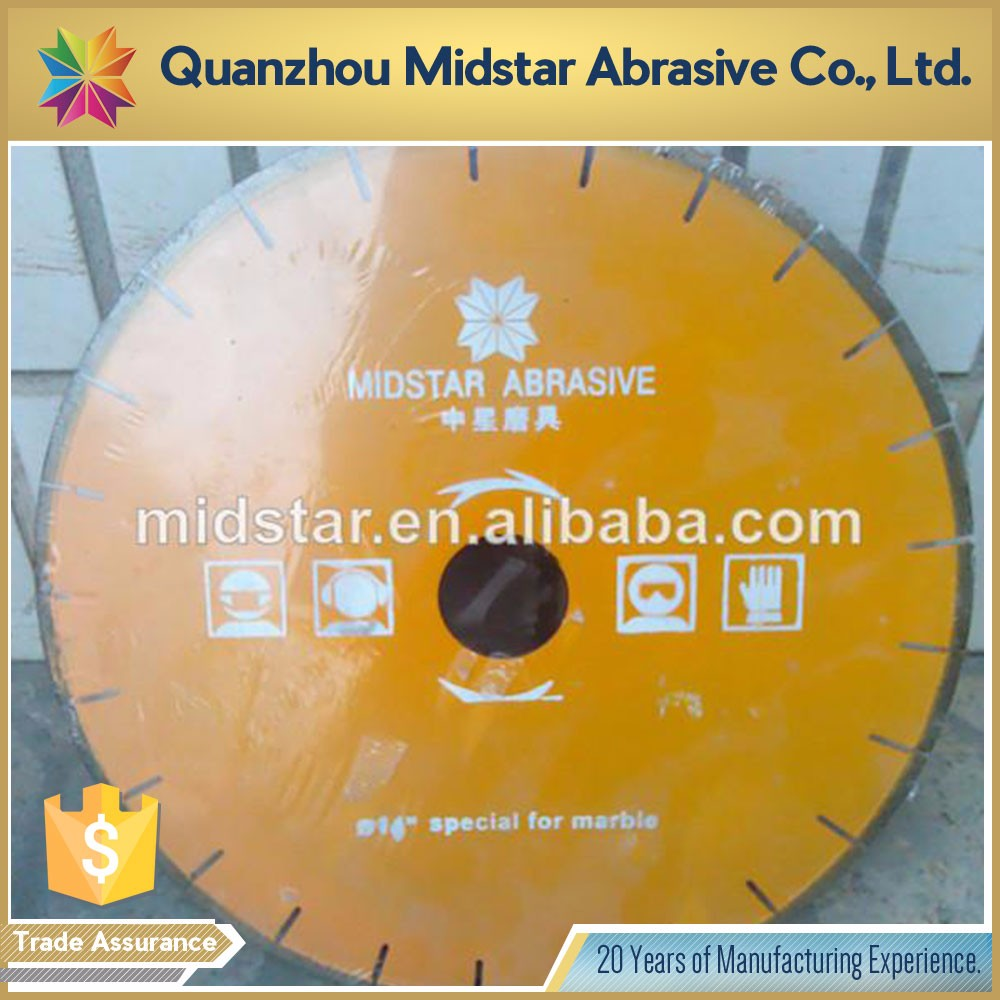 Good Quality 14 inch granite cutting saw blade for sale