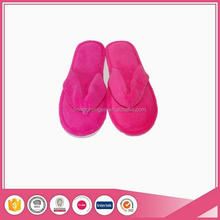 Cheap wholesale personalized towelling thong spa flip flop hotel slippers