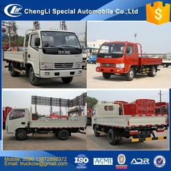 CLW Dongfeng Cargo Truck 4-5tons Light duty cargo truck small lorry transport goods truck 4x2 4x4 advantage competitive price
