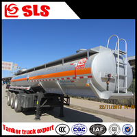 Tri Axle Fuel Tanker Semi Trailer