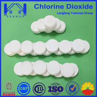 20gram effervescent chlorine dioxide tablets for drinking water treatment