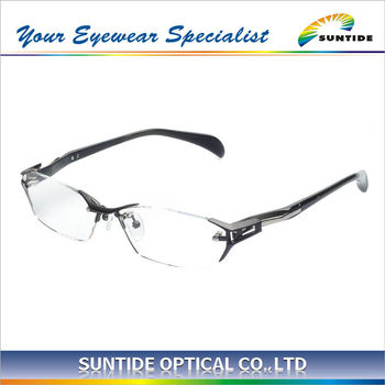 Rimless Glasses Durability : Japan Design Lighweight And Durable Titanium Rimless ...