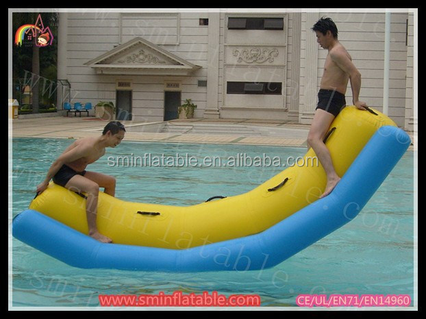 2005 on water inflatable banana boat for sale , inflatable pontoon boat