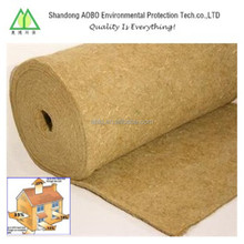 thickness 2-50mm natural jute felt for industry