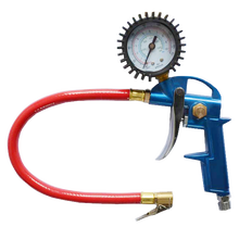 Tire Inflator with dial Pressure Gauge