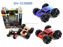 Hot Selling 6CH Remote control rolling tip lorry car,tumbling car,RC stunt skip car toy