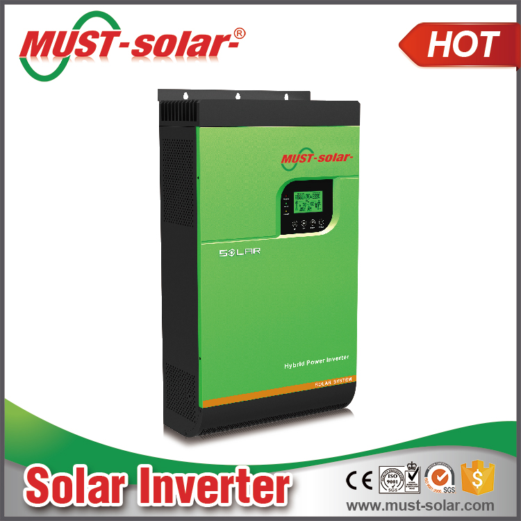 High frequency 4KVA/5kva Inverters & Converters ON and off grid pure sine wave hybrid solar inverter
