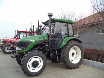 80hp tractor with AC cabin, agricultural tractor, farm tractor