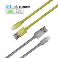 Braided multi-function custom colorful glow usb cable