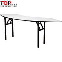Modern Furniture Meeting PVC Folding Table