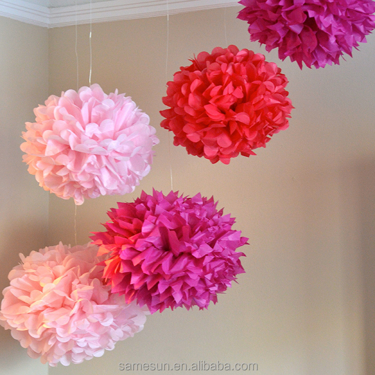 Paper Flower Ball For Wedding Party Supplies Buy Paper Flower Ball