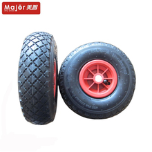 10 inch 3.00-4 pneumatic rubber wheel for trolley