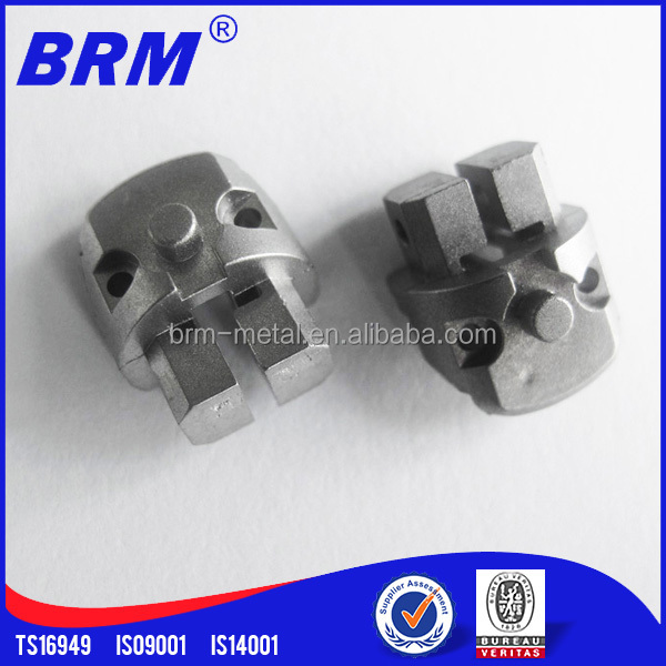 Titanium, brass, tungsten parts made by mim or machining