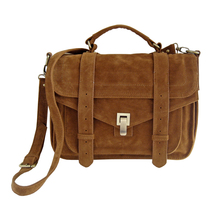 Ladies faux suede designer handbag crossbody satchel messenger bags PU shoulder bag b2c online shop