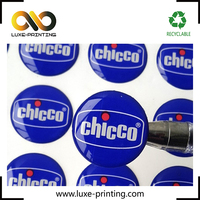 Machine making printing your brand poly dome sticker,3d dome epoxy label