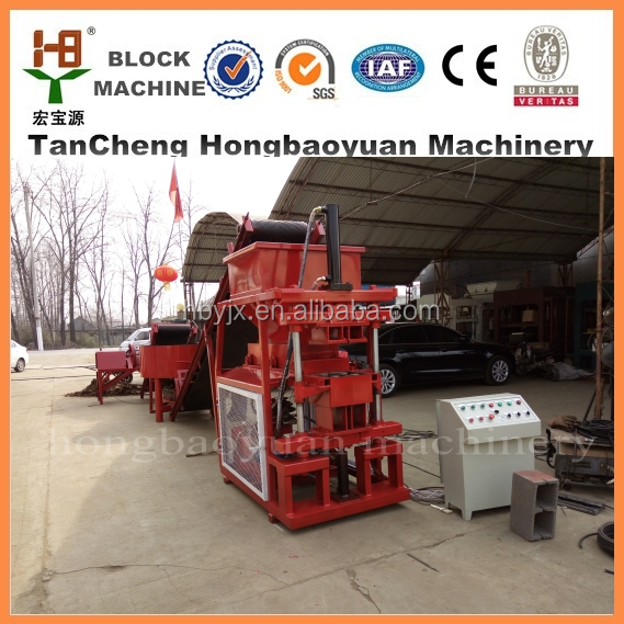 Latest products HBY 2-10 Top Trade Assurance hydraform hollow block machine bulacan