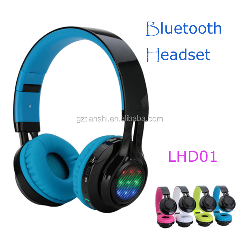 Free logo print Smart wireless stereo headphone Bluetooth Headset for Sport