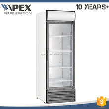 High quality R134a prepainted aluminum commercial cold drink refrigerator cooler beverage fridge