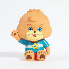 hello bear cartoon character coin bank/custom PVC money box with factory price/tin can money box producer