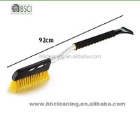 heavy duty snow brush, soft snow brush, rubber ice scraper snow brush