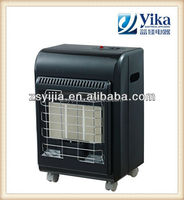 Energy Saving patio antique ceramic gas heater with ignition switch