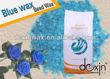 2016 Hot Blue Brazil Depilatory Wax in Beads with MSDS Certification 1000g