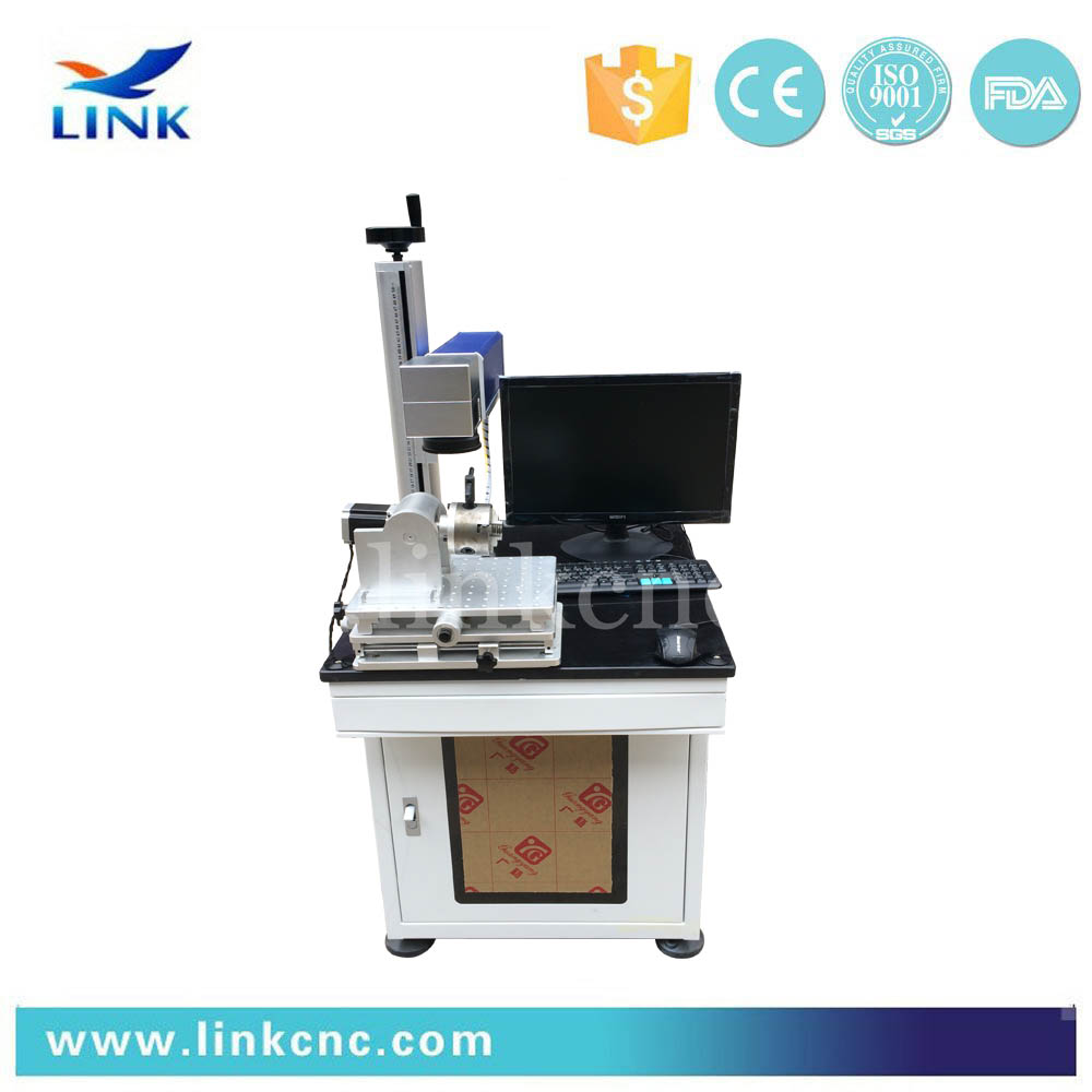 Raycus Fiber Laser Marking Machine Price With Stainless Stell,Sliver, Plastic, Glasson sale
