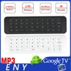 2.4GHz MP3 Wireless Keyboard Universal Remote Control with Air Mouse