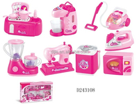 Hot sale toys of electric shock appliances with music and light / Household appliance as the best gift for children