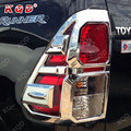 Popular Hilux revo parts chrome tail lamp cover for Global Hilux revo