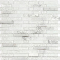 Decorative Stone Mosaic Tile Hexagon Marble
