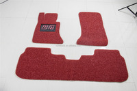 pvc mat car fender mat advertising in rolls or sets antislip eco-friendly, coloring double layered