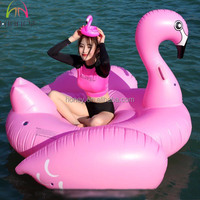 Hogift Hot Selling Inflatable Swimming Pool Float/flamingo Pool Float/Unicorn Floating Row Water