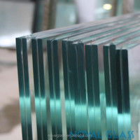6.38mm 8.38mm 10.38mm Customize Clear And Stained Tempered Laminated Glass Price