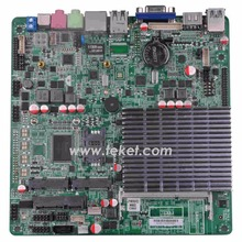 Slim Intel Celeron J1800 mini desktop board J1800MT-D12 up to 2.58Ghz Bay trail dual core 4th HDM I 12VDC for IPC AIO