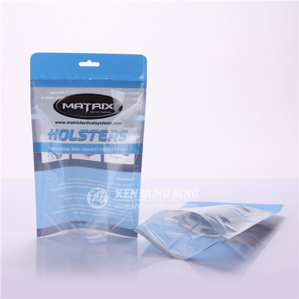 Customized Stand up Zip Lock Underwear Bags Contract Packaging Companies in China