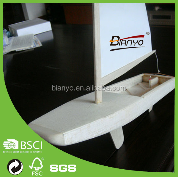 High Quality Balsa Wood Timber Boat Model
