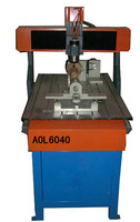 Mini 6040 cnc router for wood&rotation axis