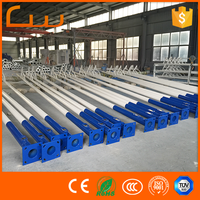 Competitive price 10 meters galvanized lighting pole