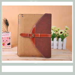 Pu leather case for ipad 4, detachable case for ipad 4