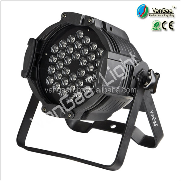 Vangaa led <strong>3</strong>*36pcs led par 64 indoor <strong>3</strong> in <strong>1</strong> rgb led par