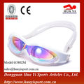 Rainbow one piece adult wholesales advanced durable swimming goggles