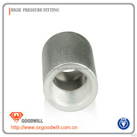forged carbon steel pipe threaded half and full coupling