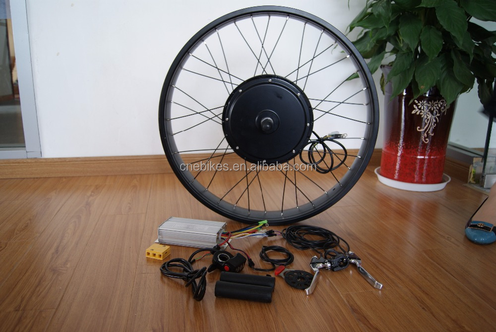 "48v 500w 1000w 26"" *40"" 20*4.0 FAT hub motor electric bicycle conversion kit"